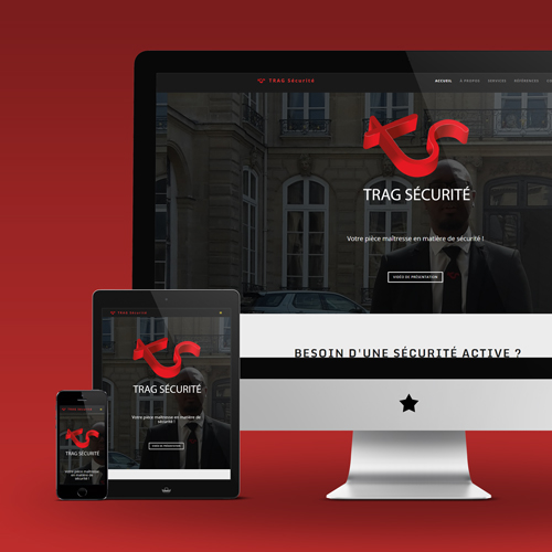 TRAG Securite website